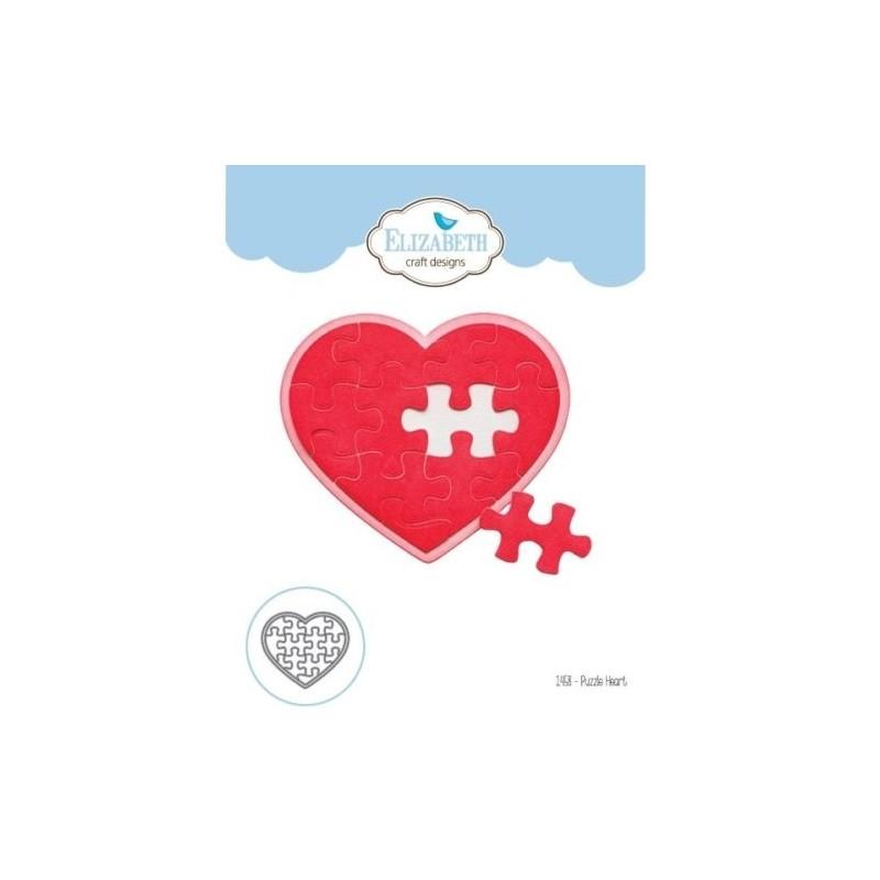 Cortante Puzzle Heart