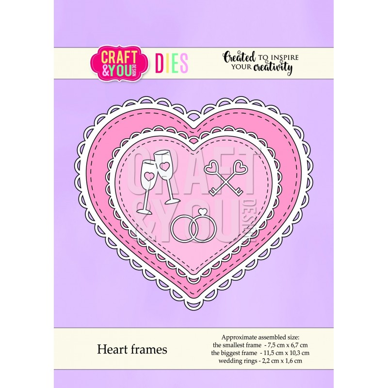 Cortante Heart Frames