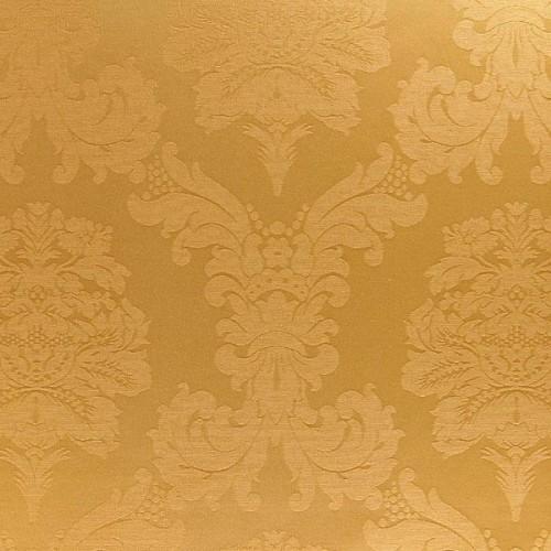 Tecido Damasco Dourado