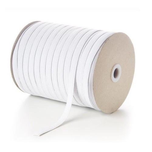 Elástico Branco 10mm