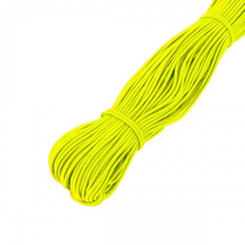 Elástico Amarelo Fluorescente 2.5mm