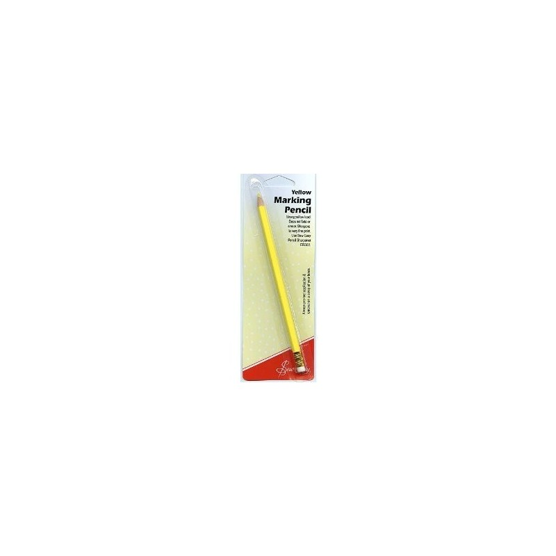 Yellow Marking Pencil