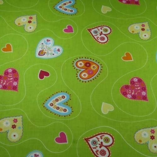 Coração - Verde