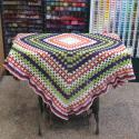 Manta em Crochet