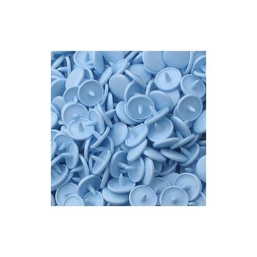 Molas Pressão Azul Bebé