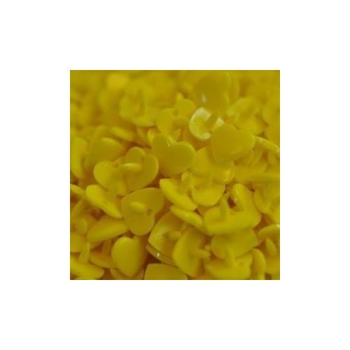 Molas Heart Amarelo