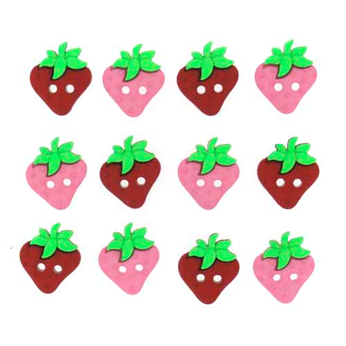 Sew Cut Strawberries