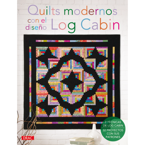 Quilts Modernos Log Cabin