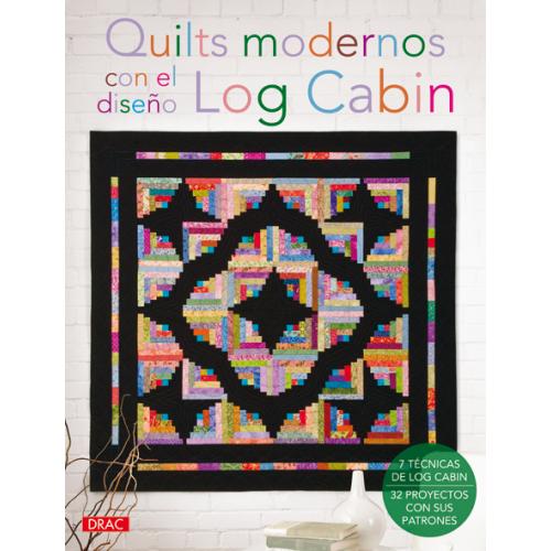 Quilts Modernos Log Cabin