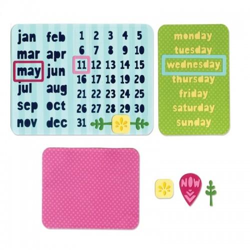 Sizzix Thinlits - Calendar