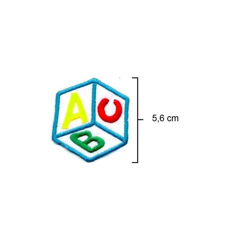 Dado ABC Azul