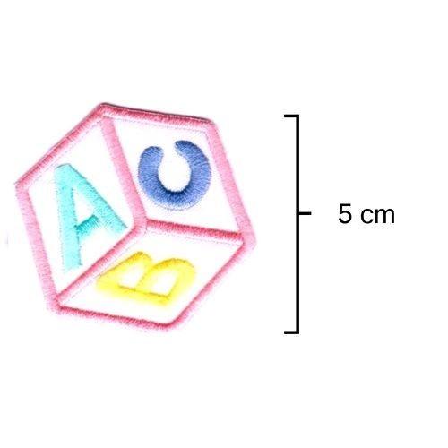 Dado ABC Rosa