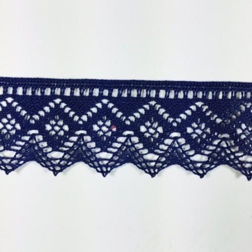 Renda Azul 4cm