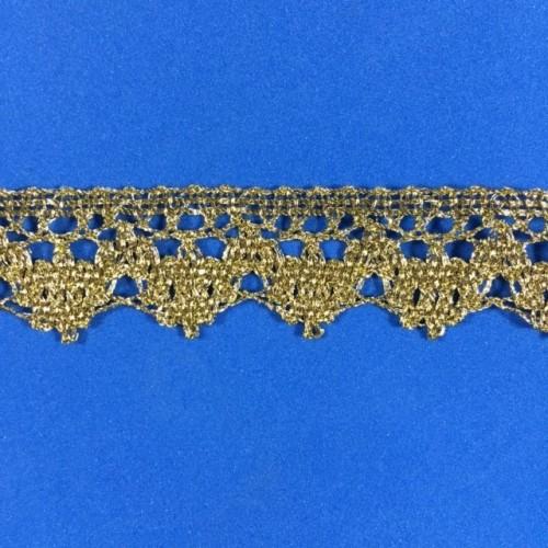 Renda Dourada 2cm