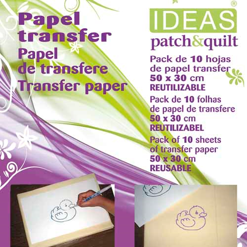 Pack Papel Transferidor