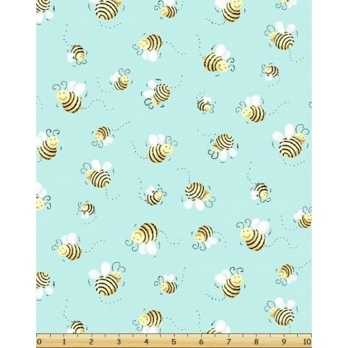 Bees Aqua