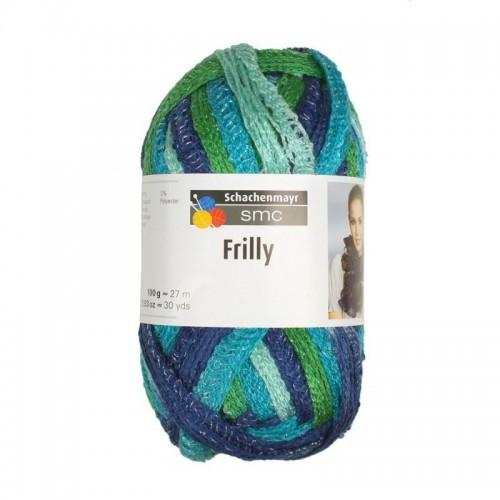 Frilly Aqua