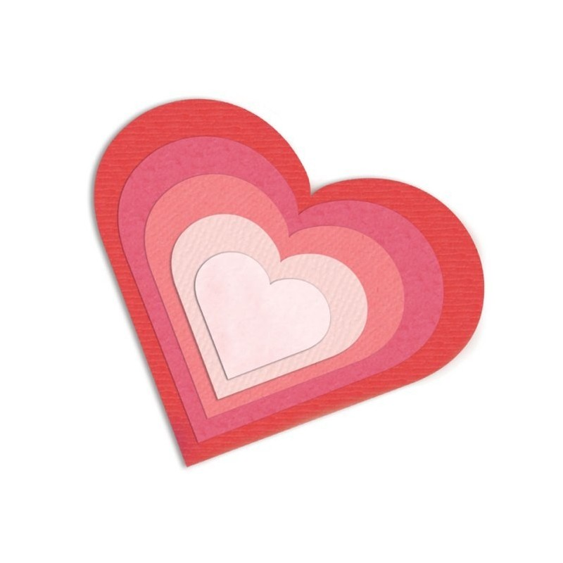 Sizzix - Hearts