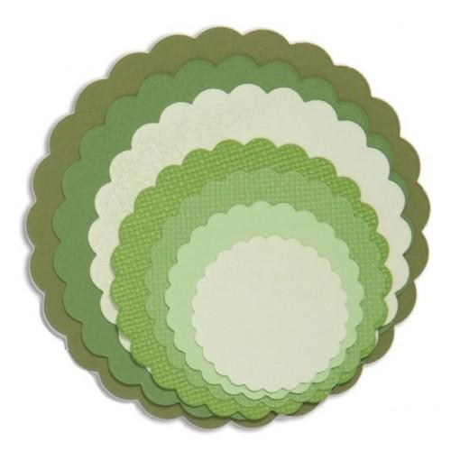Sizzix - Circles, Scallop