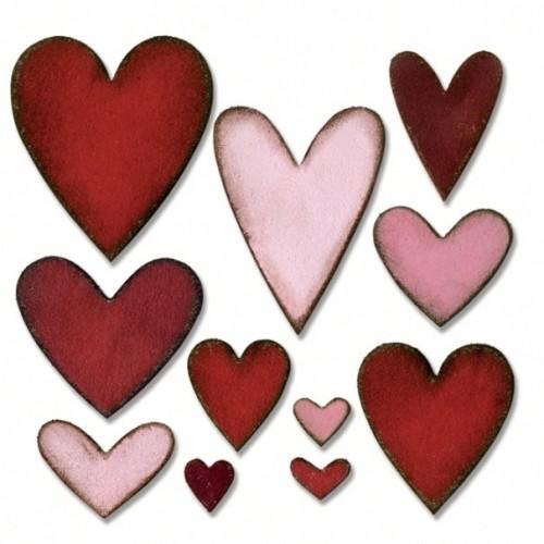 Sizzix Bigz Die - Hearts