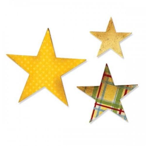 Sizzix - Stars