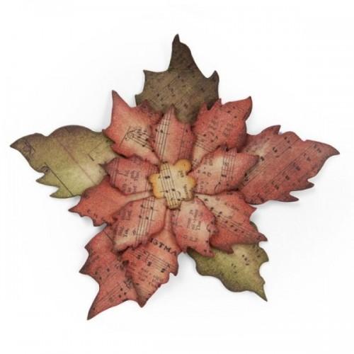 Sizzix - Tattered Poinsettia