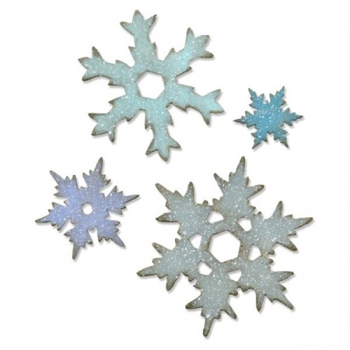 Sizzix - Stacked Snowflakes