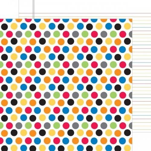 Papel Scrap Primary Dots