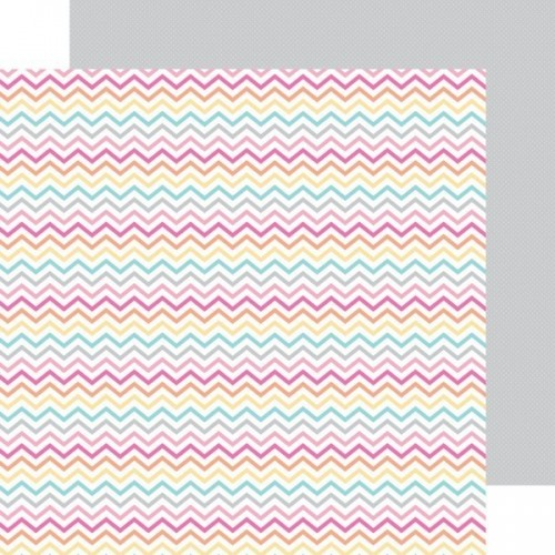 Papel Scrap Sherbet Chevrons