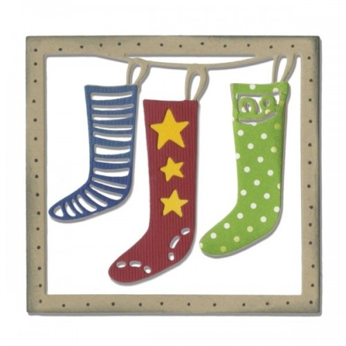 Sizzix - Christmas Stockings