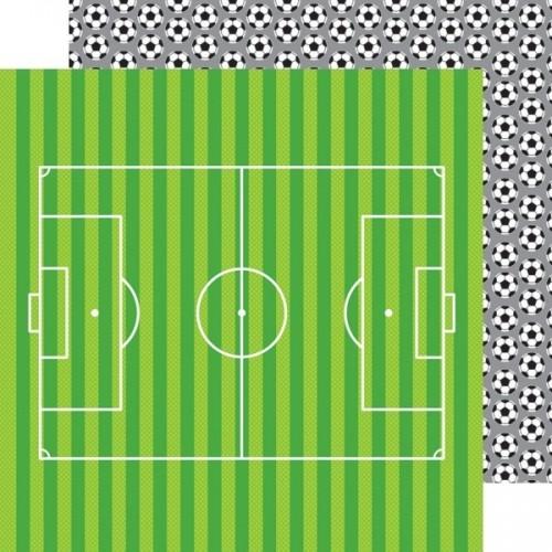 Papel Scrap Soccer Balls