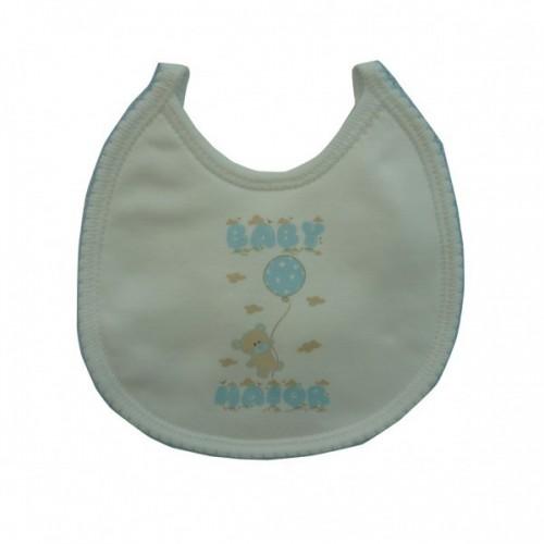 Babete Baby Maior Azul