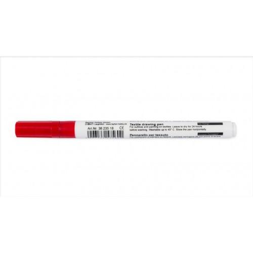 Marcador Textil Vermelho