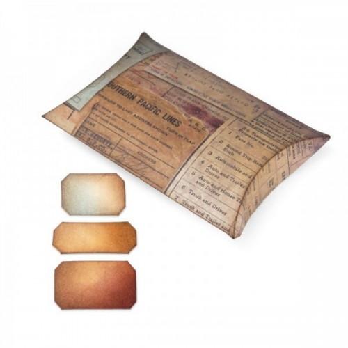 Sizzix - Pillow Box w Labels