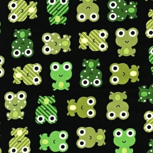 Frogs in Black