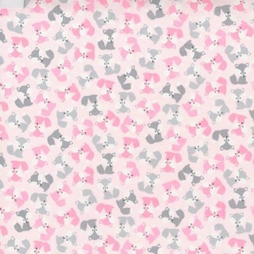 Mini Foxes in Pink
