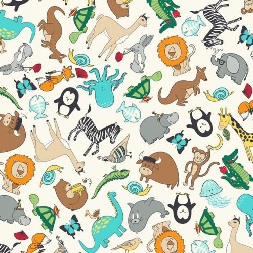Tossed Animals in Multi