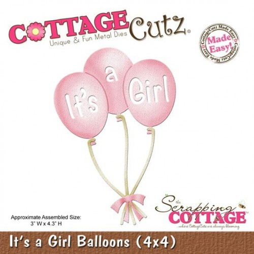 It´s a Girl Balloons