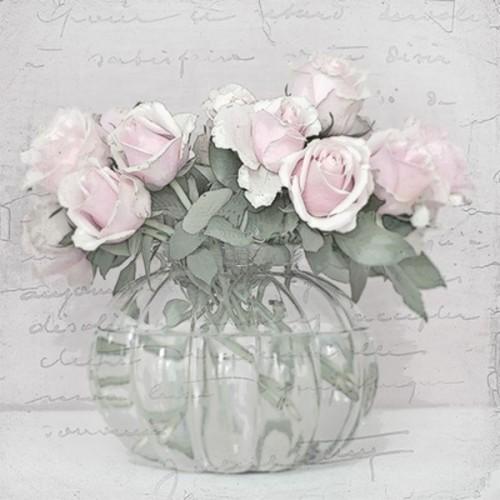 Guardanapo Vase With Roses