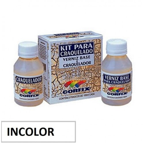 Kit Craquelador Incolor
