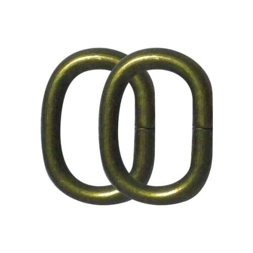 Argola Oval 20x15mm
