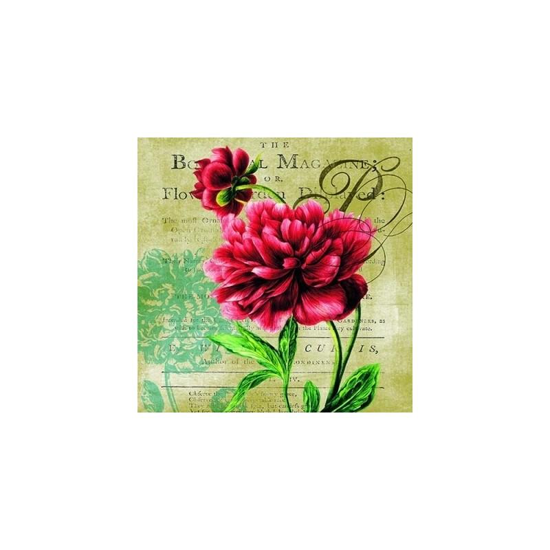 Guardanapo Rosa Vermelha