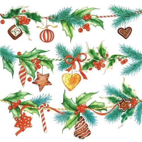 Guardanapo Holiday Deco