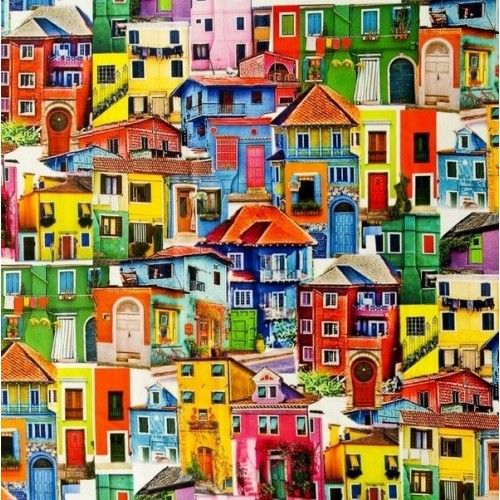 Casas Coloridas Digital