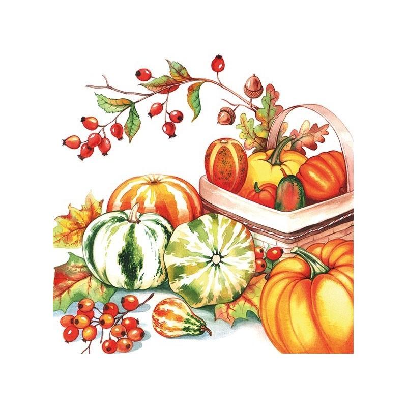Guardanapo Pumpkin & Rose