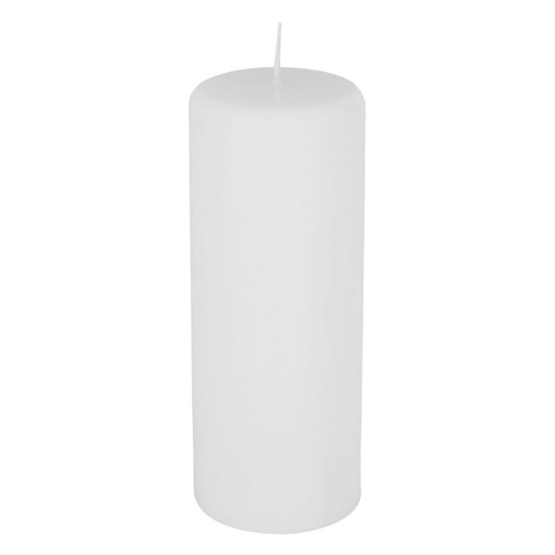 Vela Cilindrica Branca